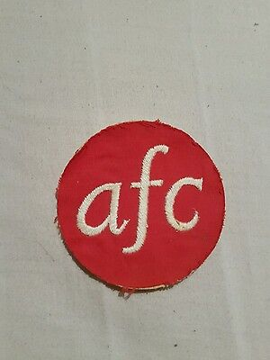 old football patch aberdeen?  vintage?