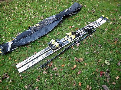 Skis -Rossignol 190 cm with poles and bag