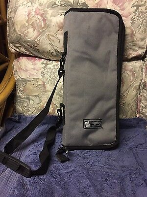 Big dog grey and black drum kit  stick carry case