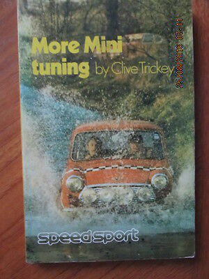 Clive Trickey More Mini Tuning,book,2nd edition 1970