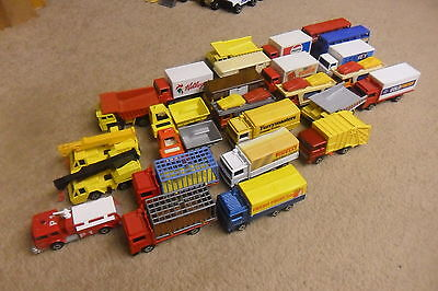 MATCHBOX SUPERFAST LORRY & CRANES ECT  x 26   SOME RARE 1970'S  - NICE CONDITION