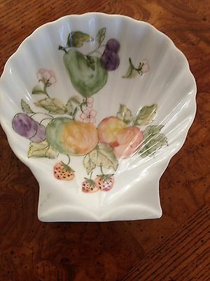 Pear Fruit Clamshell Dish  candy nuts jewelry