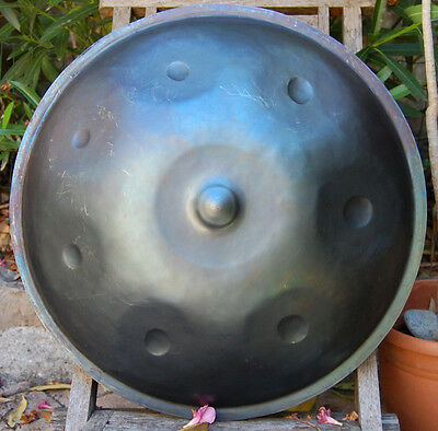 Handpan Totem music  ,Integral in A (en La) ,7 notes