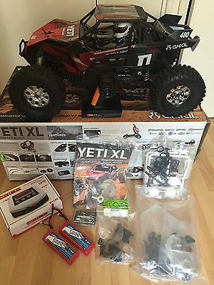 Axial Yeti XL 1/8 Brushless RC Truck Rtr Not Losi Hpi Traxxas
