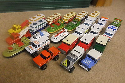 MATCHBOX SUPERFAST AMBULANCE  ECT  x 26   SOME RARE 1970'S  - NICE CONDITION