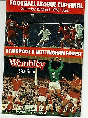 Lverpool v Forest Final