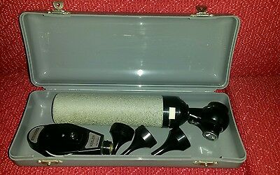 Vintage  Keeler Otoscope /ophthalmoscope  Medical Equipment Diagnostic Set