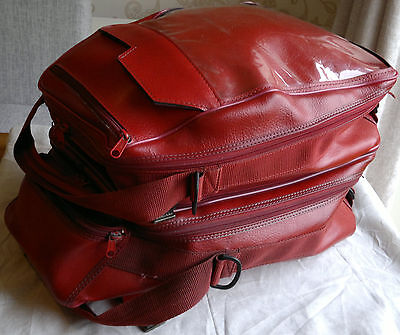 Baglux Bagster Omega 40 Lts Double Tank Bag Red