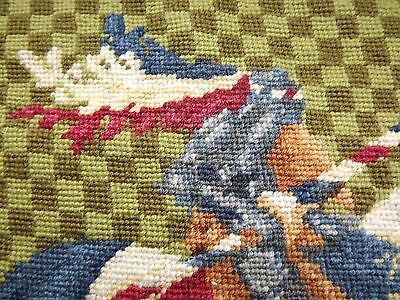 Chevalier De Saint Denis Medieval Millennia 2000 Completed Needlepoint Tapestry