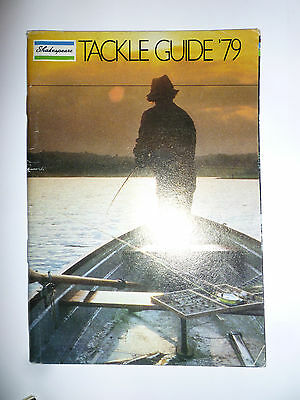 Shakespeare 1979 Fishing Tackle/Equipment Guide/Catalogue (Rods/Reels/Fly/Sea)
