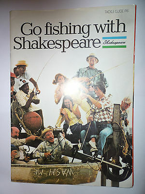 Shakespeare 1981 Fishing Tackle/Equipment Guide/Catalogue (Rods/Reels/Fly/Sea)