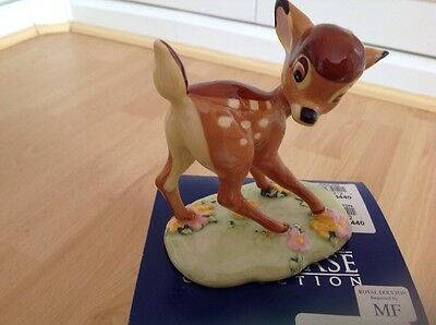 Royal Doulton Bambi Limited Edition Box And Certificate