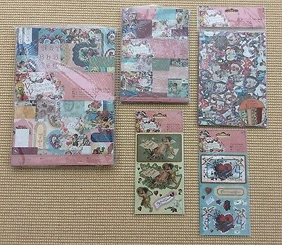 Docrafts Papermania Victorian Valentine Card Making Bundle