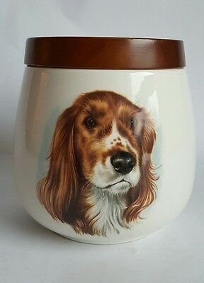 Vintage 'Dog' Storage Jar