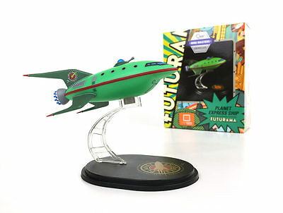 Loot Crate July 2016 Exclusive QMx Mini Masters Futurama Planet Express Ship