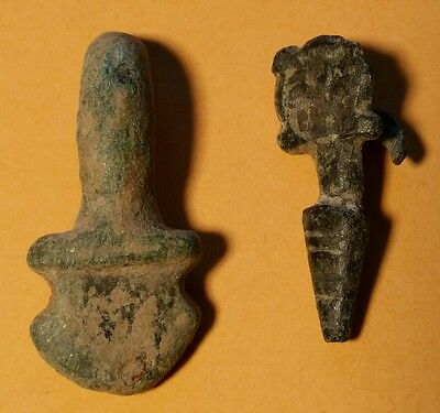Pair of Early Medieval or Viking Era Decorative Adornments