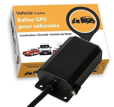 Balise GPS jelocalise EasyTracker Traceur GPS pour véhicules voiture moto...