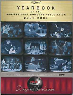 PBA BOWLING 2003-2004 Yearbook SIGNED / AUTOGRAPHED by 25