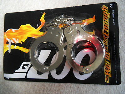 James Bond Handcuffs The World Is Not Enough Metal 1992 UNOPENED