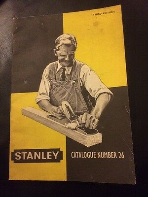 Stanley Catalogue Number 26 Third Edition 1959