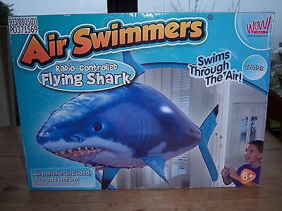 Air Swimmers radio remote controlled flying shark
