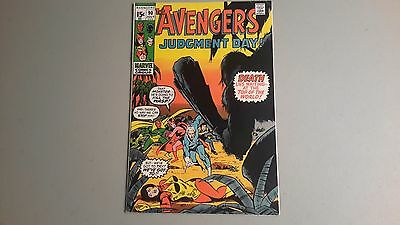 The Avengers #90 Comic Book VF+