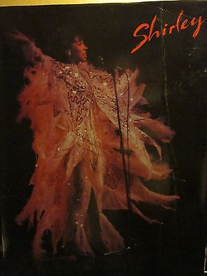 Shirley Bassey 2 Tour Programs with ticket and playbill         Very Nice