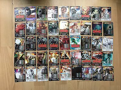 Doctor Who Battles In Time Trading Card Bundle Lot Inc Rares & Shiny