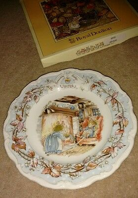 Brambly Hedge winter plate