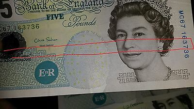 Five Pounds Notes, CONSECUTIVE ERRORS!
