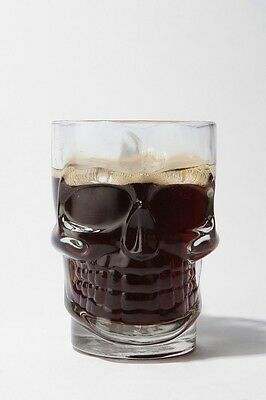 Skull Glass Excellent Condition No Box Never Used