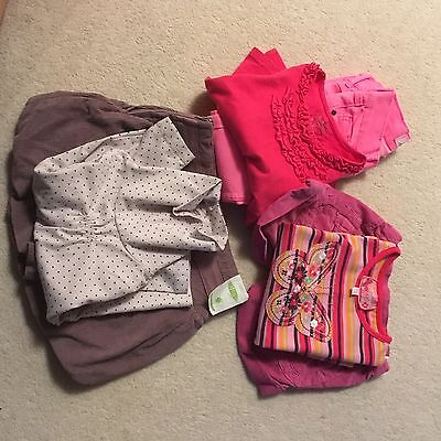 Girls winter 6 item clothes bundle - 2-3 years