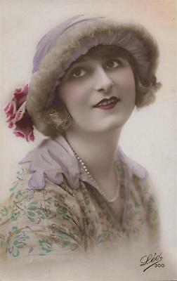 French Glamour Girl Real Photo 1923