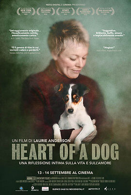 Locandine HEART OF DOG Laurie Anderson (Film, 2016)