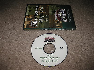 Inside The Game Of Football: Playing Wide Receiver & Tight End DVD Instructional