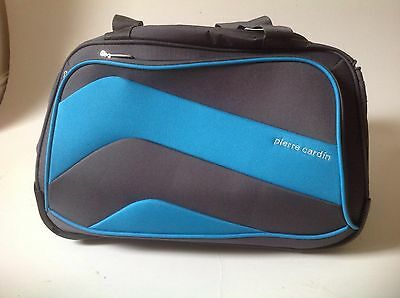 Wheeled Pierre CaLightweight Cabin Travel Bag Suitcase Case Hand Luggage Trolley