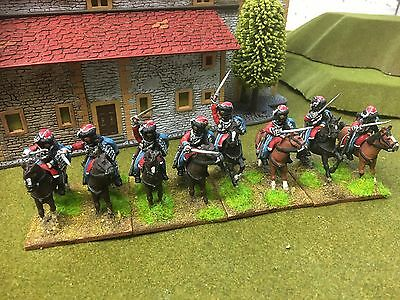 28mm US Mexico war Mexican Hussars painted First Corps