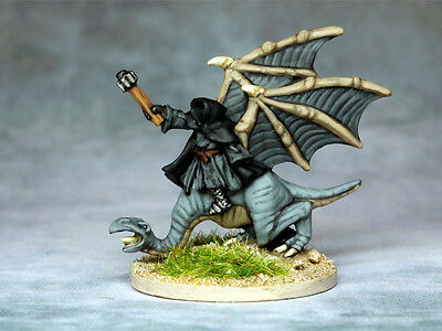 (SD) Painted (Copplestone) 10mm Lord of the Rings - Witch King on Nazgul