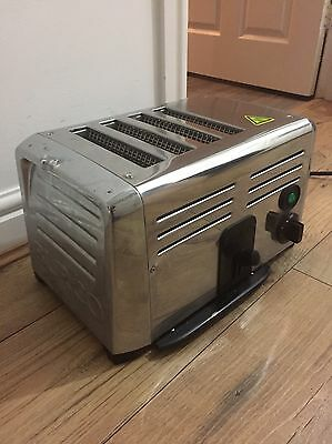 Commercial Catering Burco CF412 4 Slot Toaster K4017