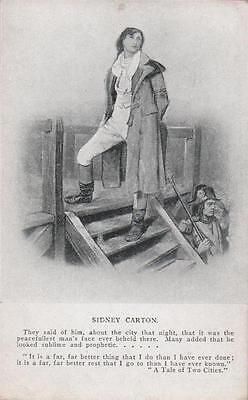 Charles Dickens Sidney Carton A Tale Of Two Cities