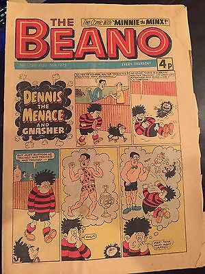 The Beano Comic 1975 August 16th Number 1726 **FREE POSTAGE **
