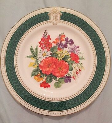 Royal Crown Derby, Fine Bone China, The Queens Mothers Birthday Plate