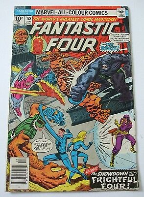 Marvel US Comics Fantastic Four No # 178.Jan 1977.Frightful Four.Counter Earth
