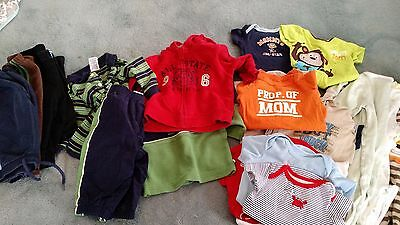 25pcs PREOWNED BABY BOY 3-6 MONTHS LOT