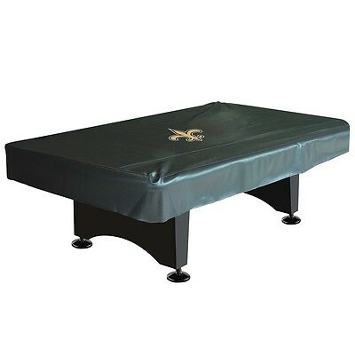 NFL New Orleans Saints 8ft  Fitted Leatherette Pool Table Cover w/ FREE Shipping