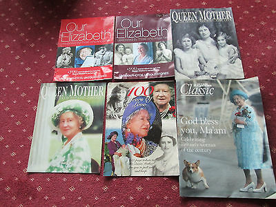 The Queen Mother - Collection Of Various Magazines