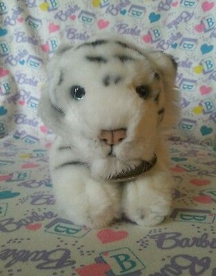 "Russ Yomiko Classics - White Tiger 11"" Plush - Big Cat Rescue"