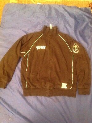 British Army Rugby Full Zipped Cotton Jacket Size S