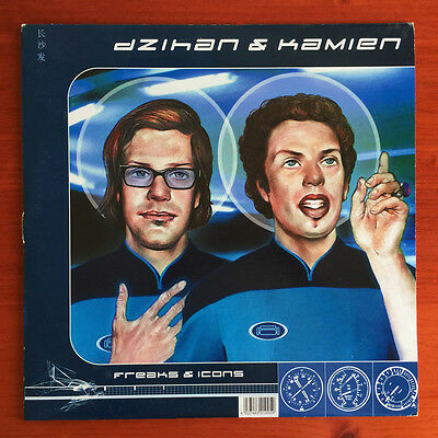 dZihan & Kamien ‎– Freaks & Icons 2xLP 2000 - Couch Records ‎– CR 21005