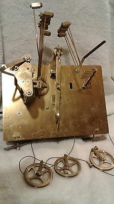 Hermle Black Forest Clock Movement 87 1161-850B 93cm/66 Chime Grandfather